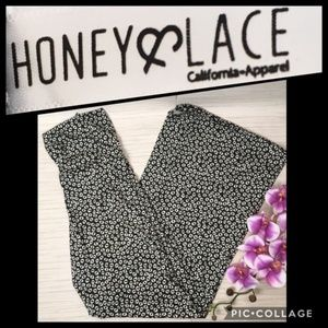 Honey & Lace Flowy Pacific Palazzo Pants